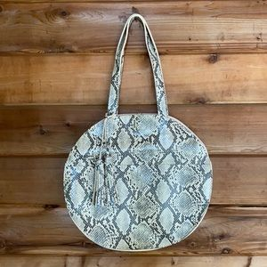 ✨NWT✨ Faux Snakeskin Bag